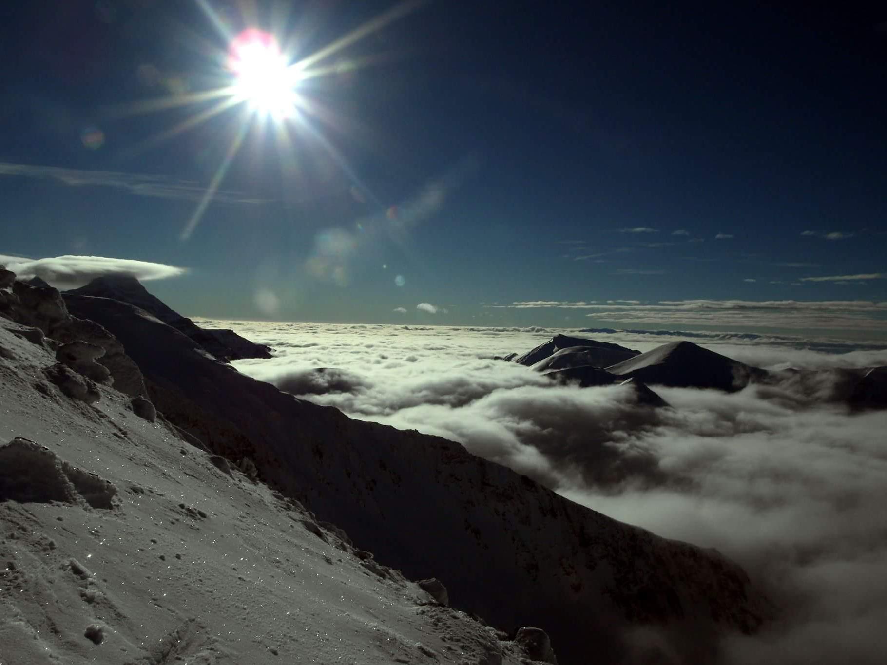 Latanie w Tatrach